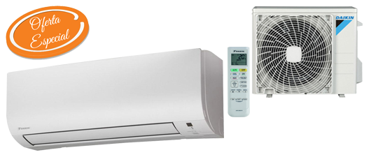 Oferta aire acondicionado barato Daikin TXC25B Hiperclima