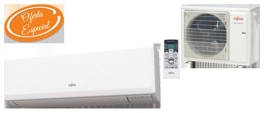 Oferta aire acondicionado barato Fujitsu ASY25UI-KP Hiperclima