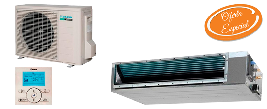 Oferta aire acondicionado por conductos barato Daikin ADEAS71A Hiperclima