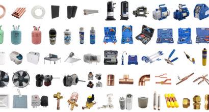 Repuestos y accesorios para aire acondicionado, calefacción, climatización, ventilación y frío Hiperclima Madrid