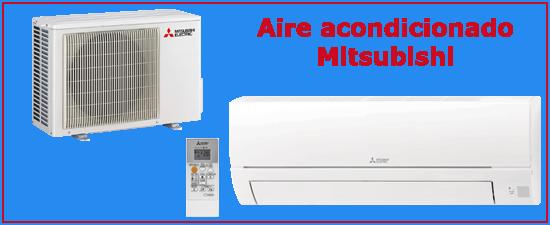 Oferta aire acondicionado Mitsubishi