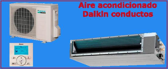 Oferta aire acondicionado Daikin conductos