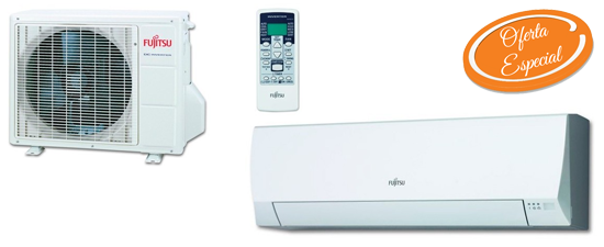Oferta aire acondicionado barato Fujitsu ASY25UI-LLCE Hiperclima