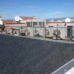 Instalación aire acondicionado Daikin obra Plaza Mayor Madrid