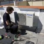 Instalación aire acondicionado Panasonic