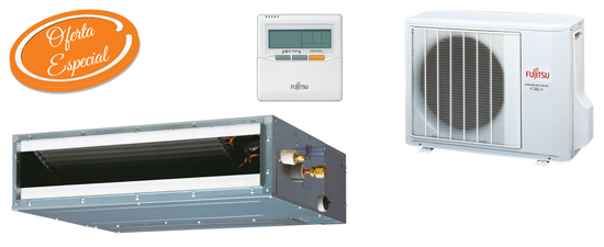 Oferta aire acondicionado por conductos barato Fujitsu ACY50UIA-LL Hiperclima Madrid