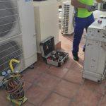 Instalación, reparación y mantenimiento de aire acondicionado